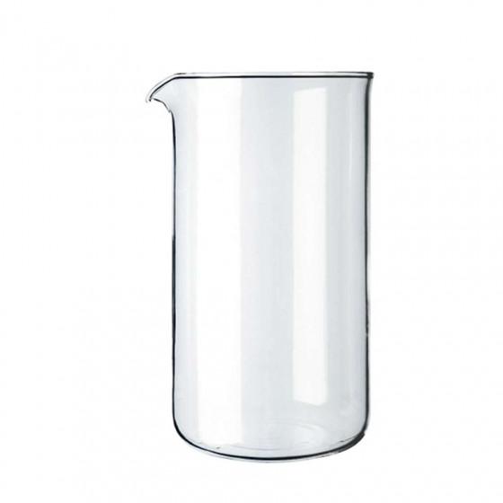 Verre de rechange pour cafetière à piston Bodum 8 tasses