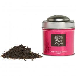 Thé noir aromatisé Fruits rouges boîte métal vrac 25g