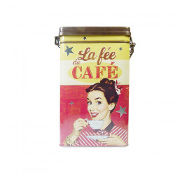 Boîte de conservation café hermétique la Fée café