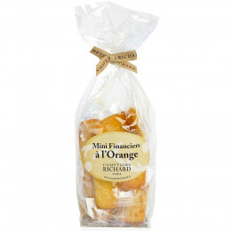 Mini financiers à l'orange 150g