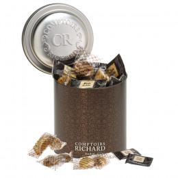 Boîte métal assortiment de biscuits 355g