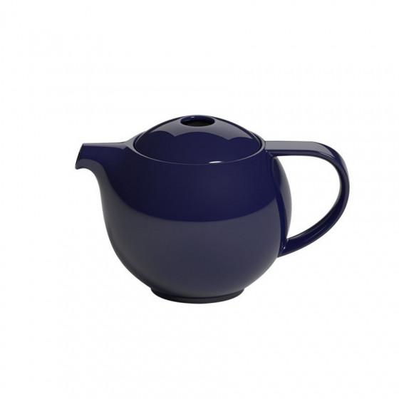 Théière ronde en porcelaine  bleu marie Loveramics 0.6L
