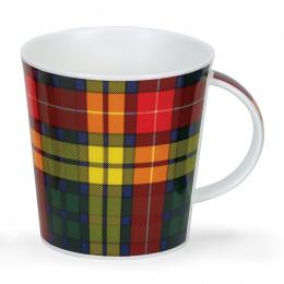 Mug Dunoon porcelaine fine Cairngorm Buchanan motif écossais 48cl