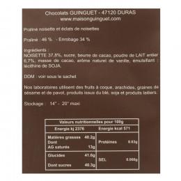 Bouchées cokinettes praliné noisettes 150g
