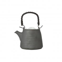 Théière Stone SS filtre grise 0.46L