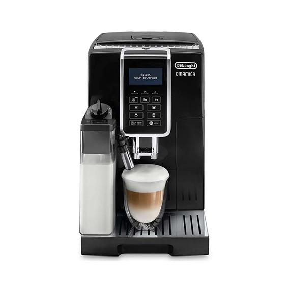 Robot café De'Longhi FEB Dinamica 3555.B et 2 paquets de 250g de café en grains et 6 verres à café 9cl offerts