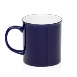 Grand Mug vintage bleu nuit 70cl