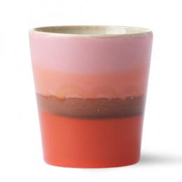 Mug grès rose 18cl