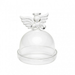 Mini cloche verre Ange