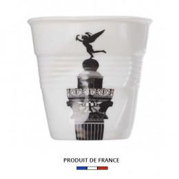 Gobelet froissé expresso Bastille 8cl