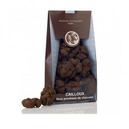 Cailloux noix et chocolat noir Maison Guinguet 150g
