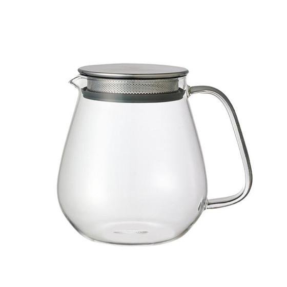 Théière en verre avec filtre en inox Unitea 72cl