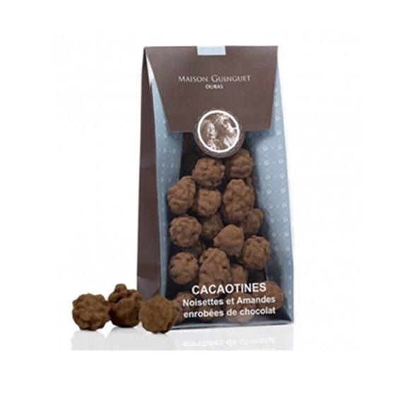 Cacaotines aux noisettes amandes et chocolat Maison Guinguet 150g