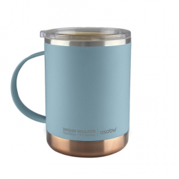Mug isotherme de couleur bleu acier 36cl Asobu