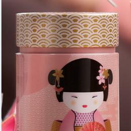 Boîte à motif Geisha Rose 150g Eigenart