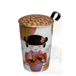 Tisanière tea Eve new little Geisha Rose Eigenart
