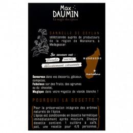 Dosettes cannelle de Ceylan Max Daumin x10
