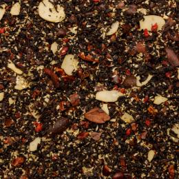 Thé noir aromatisé amande et griotte Bio sachet 100g