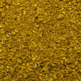 Tisane au matcha aromatisé aux agrumes et curcuma