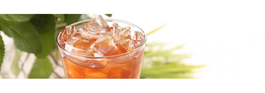 Emportez votre thé ou tisane glacé