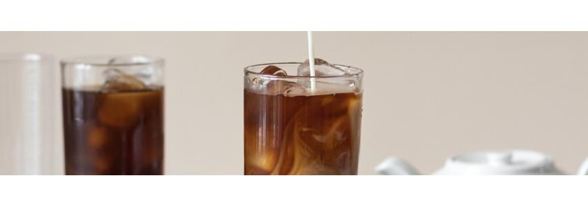 Dégustez un café glacé