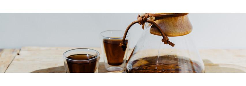 Cafetière à filtration douce